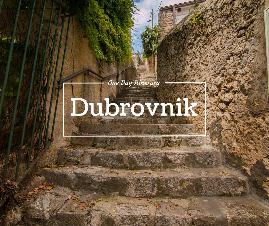 24 hours in Dubrovnik, Dubrovnik Itinerary, Dubrovnik, Croatia, arboursabroad, stairway