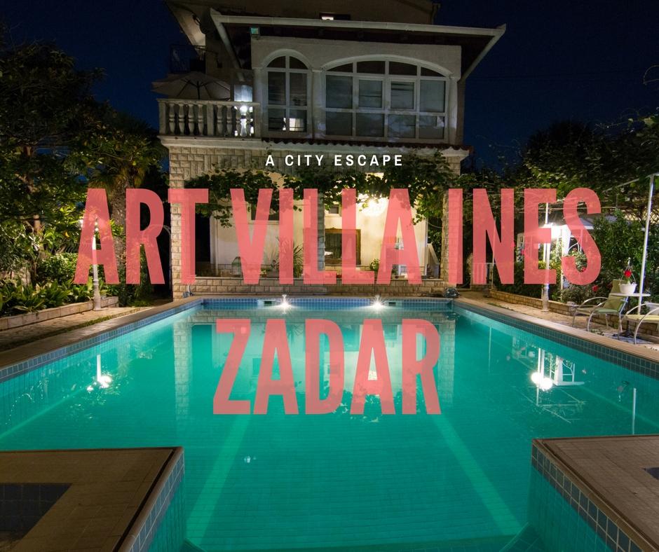 Where to stay Zadar, Art Villa Ines, Zadar, Croatia, Zadar accommodation, arboursabroad