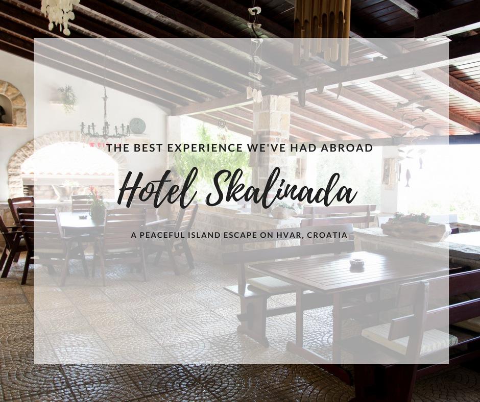 hotel Skalinada, hvar hotels, where to stay hvar, arboursabroad, croatian islands