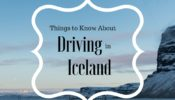 12 Practical Tips for Driving in Iceland