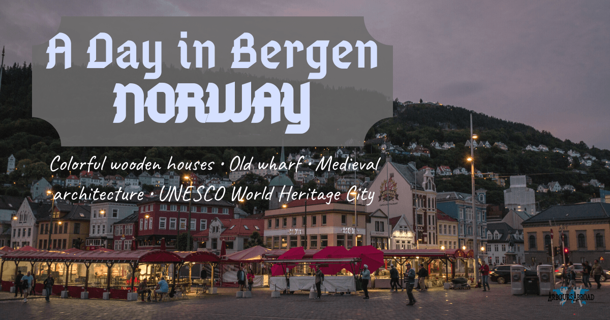 Bergen city center, bergen harbor, bergen city guide, arboursabroad